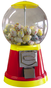 Candies / Bubble-gum vending machines