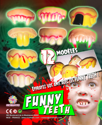 FUNNY TEETH new20x25 cm copie