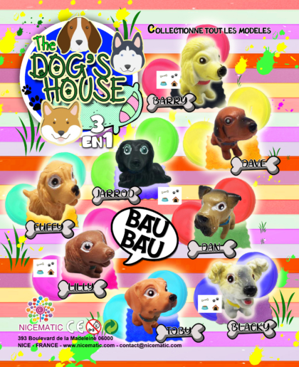 THE DOGS HOUSE 20×25 cm  copie