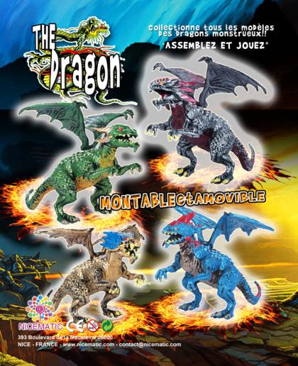 the dragon 20×25 cm  copie