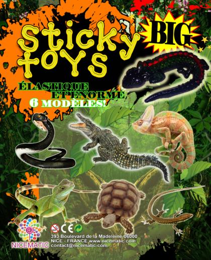 sticky toys