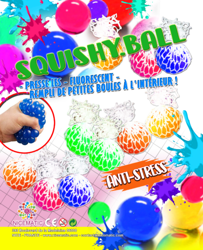 squishy ball 20x25 cm  copie
