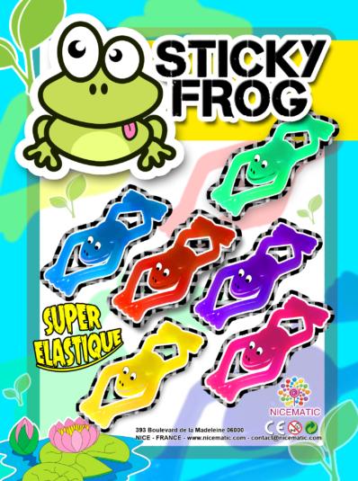 sticky frog12.5x17 cm copie