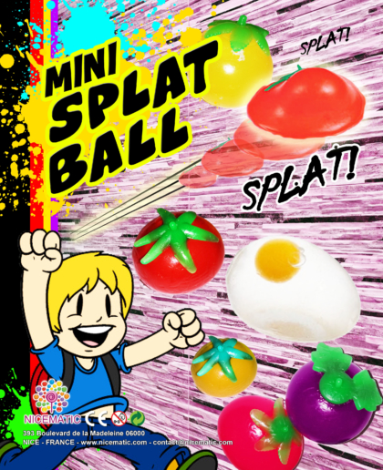 mini splat ball 20x2-50 mm