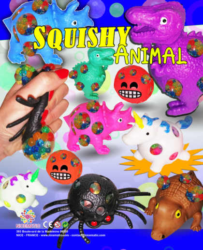 squishy animal 20x25 cm