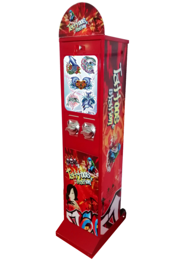 Tattoo vending machines