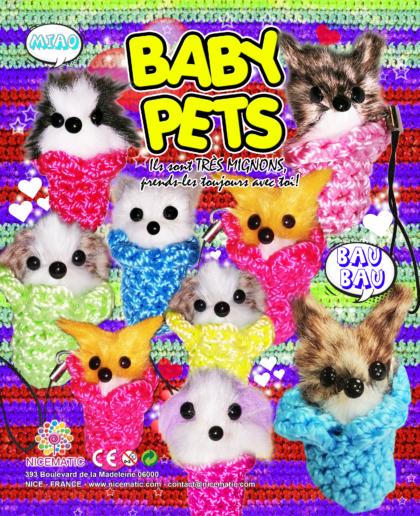 baby pets 20X25 CM-50 mm copie