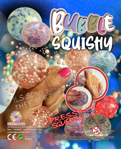 squishy bubble 65018-65 MM  copie