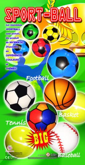 sport ball - f1002 30X60 CM